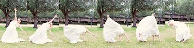 florida bride cartwheel