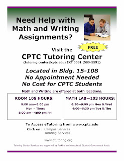 Tutoring Center Flyer Spring 2012