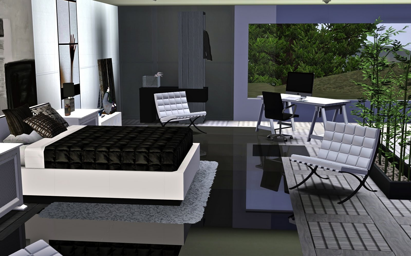 Le blog de guijobo ambiance chambre r ve blanc - Ambiance chambre ...