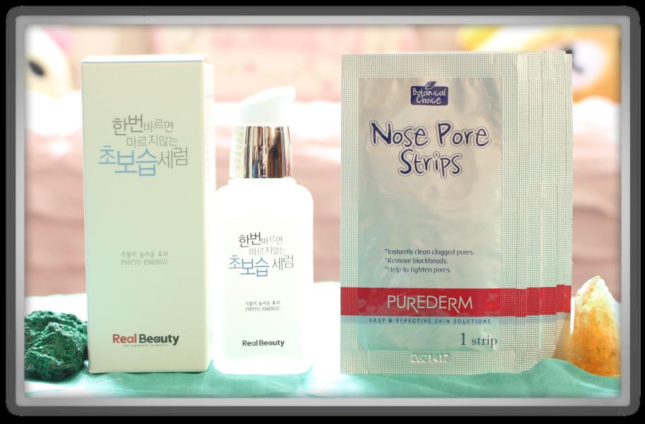 겟잇뷰티박스 by 미미박스 memebox beautybox superbox #30 Aloe Vera box unboxing review preview purederm nose pore strips real beauty ultra waterful serum