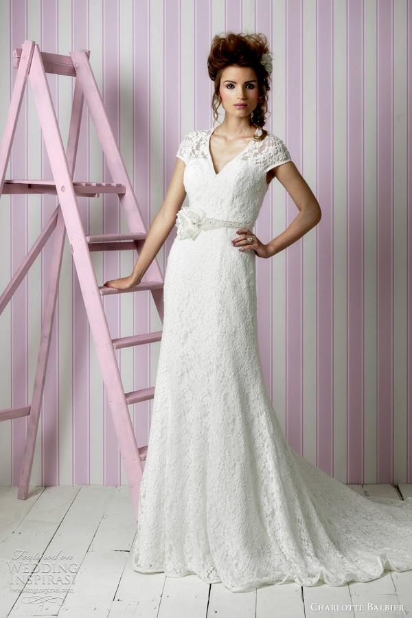 proceso de moda: Vestidos de novia 2012 de Charlotte Balbier