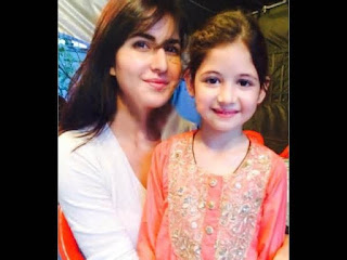 Harshaali Malhotra with katreena kaif