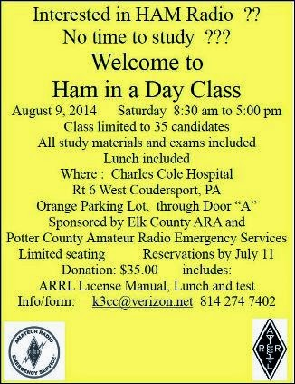 7-11 Reservations Due For Ham Radio Class