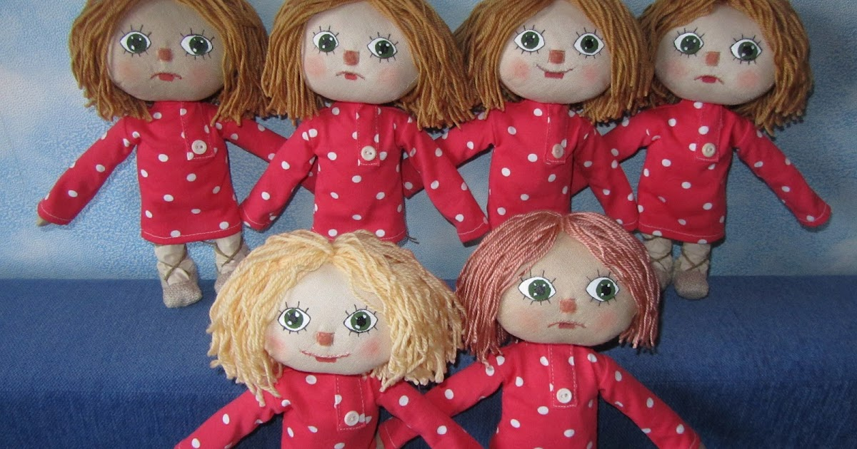 Кукла поделка своими руками