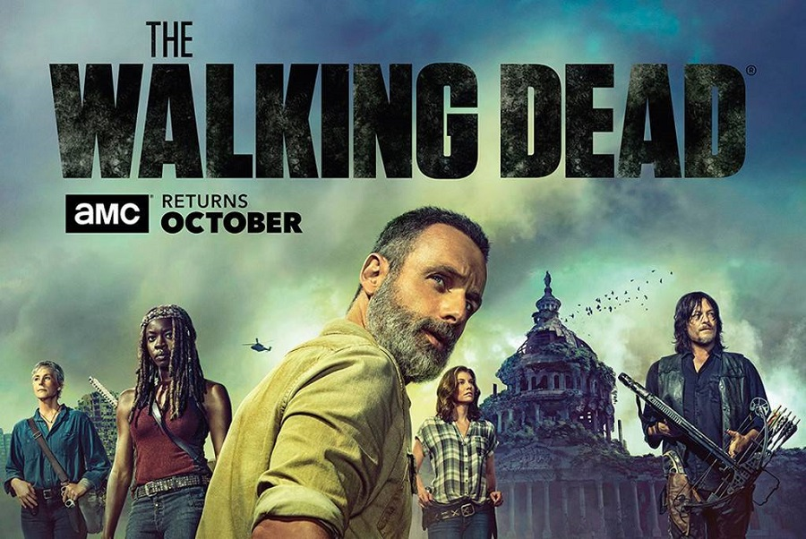The Walking Dead S09 1080p Torrent Imagem