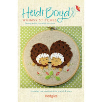 Hedgies Felt Applique Kit