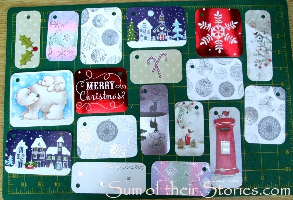 make gift tags from your old cards