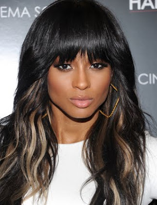 Ciara Wavy cropped Hairstyle