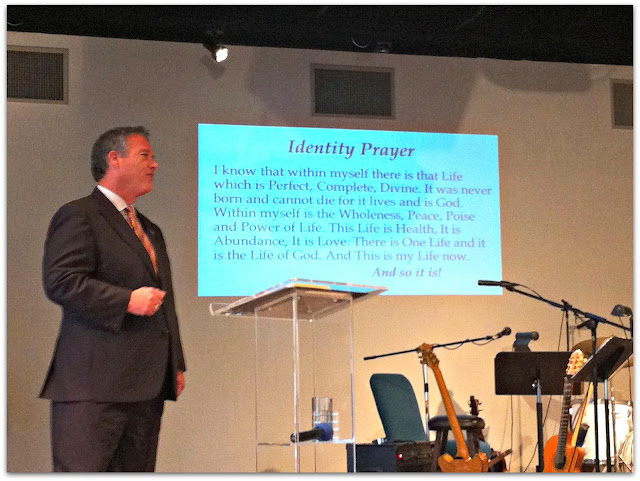 Centers For Spiritual Living Identity Prayer ~ Rev. Dr. John Waterhouse