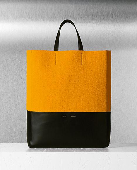 celine orange doctor's bag