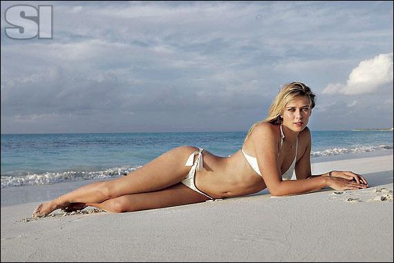 Maria Sharapova in bikini