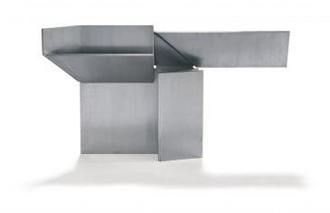 Escultura de varios planos llamada planar