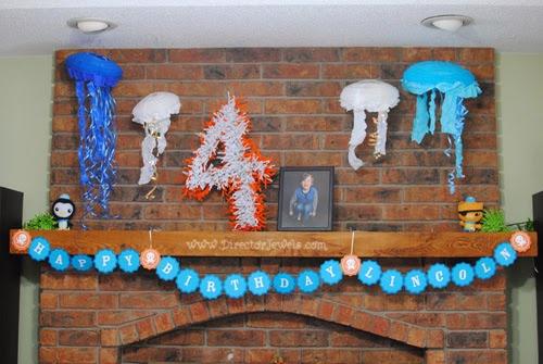 Director Jewels Octonauts Birthday Party Decoration Ideas
