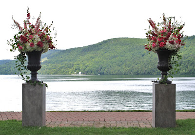 Otesaga Resort Wedding Ceremony Flowers - Splendid Stems Floral Designs