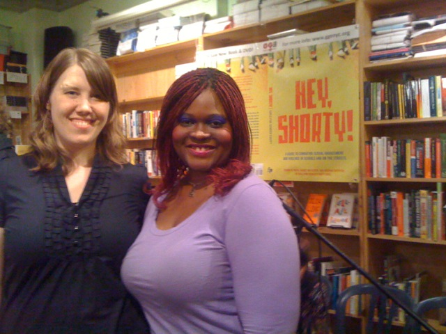 Mandy Van Deven, writer and co-author of Hey Shorty and Desi K. Robinson, ...