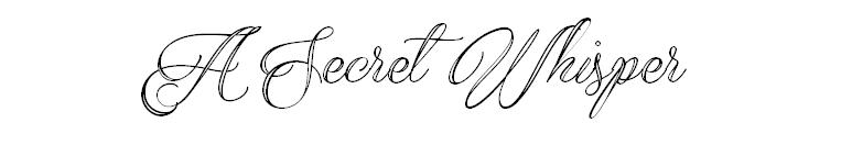 A Secret Whisper
