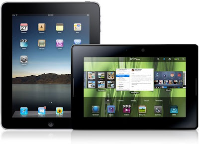 iPad dan BlackBerry PlayBook