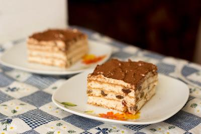торта с вафлени кори