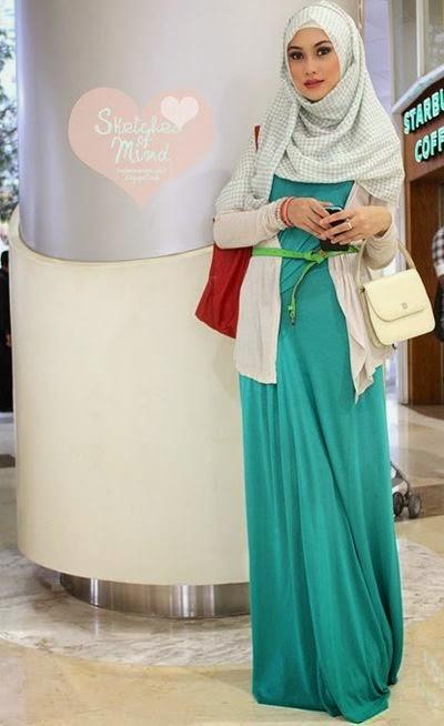 Hijab chic pour bureau