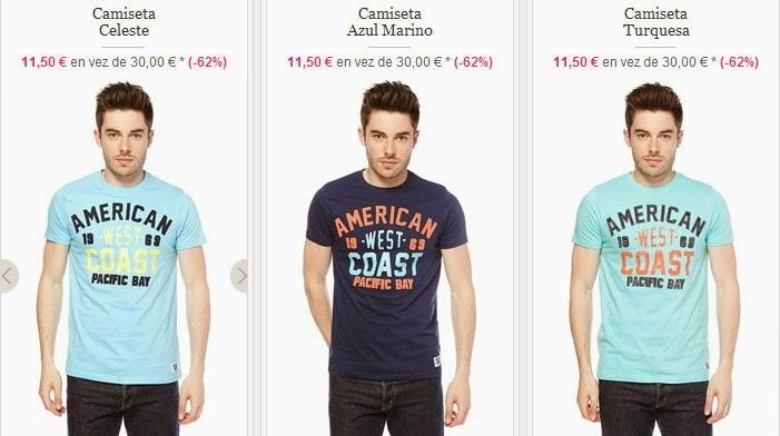 Camisetas de manga corta de American People