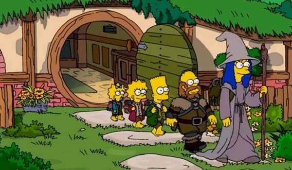 Os Simpsons - Assista a abertura especial de O Hobbit!