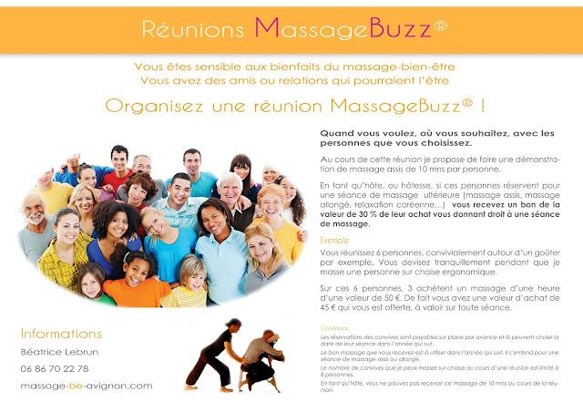 Réunions massagebuzz