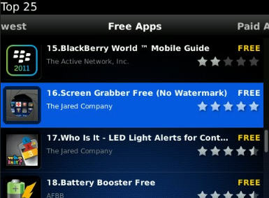 Blackberry, apps blackberry, app world blackberry, download app