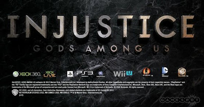 Injustice: Gods Among Us Logo - We Know Gamers