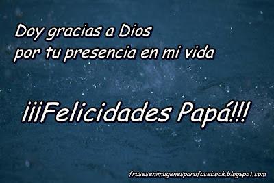 felicidades padre mio