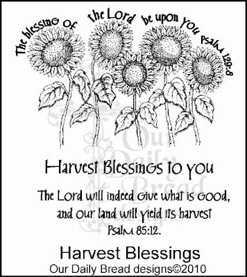 Our Daily Bread designs Harvest Blessings