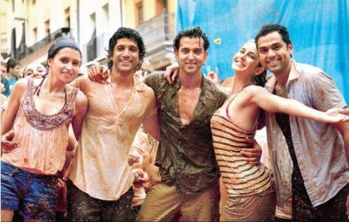 Indian-movie-Bollywood-film-Hrithik-Katrina-Hindi-flick-Zindagi-Na-Milegi-Dobara