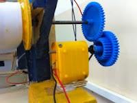 Motor reductor con engranajes