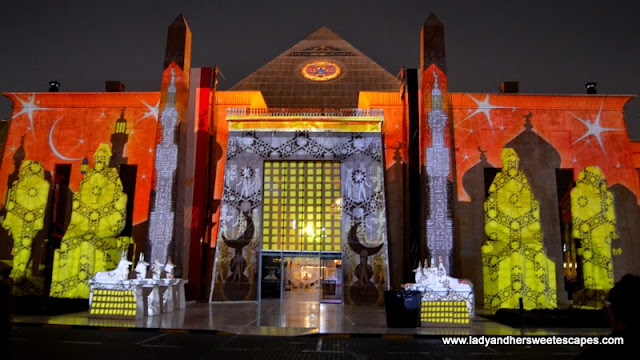 Ramadan Light and Sound Show 3 at Wafi