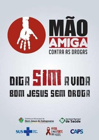MÃO AMIGA CONTRA AS DROGAS