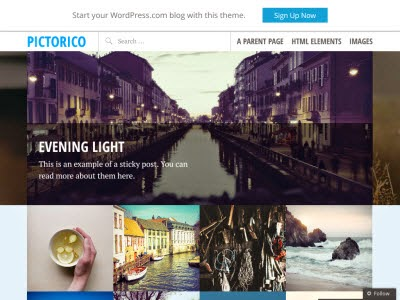 Pictorico WordPress Themes