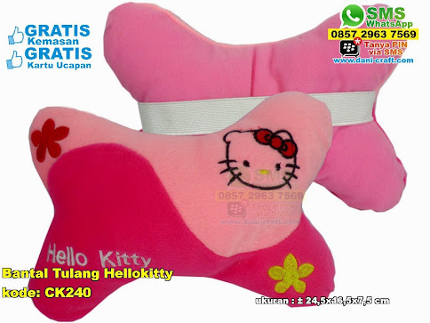 Bantal Tulang Hellokitty