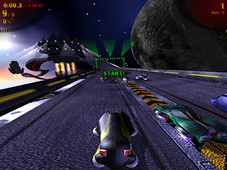 Screenshot Game Star Racing Full Screen