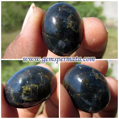 Batu Permata Natural Blue Opal