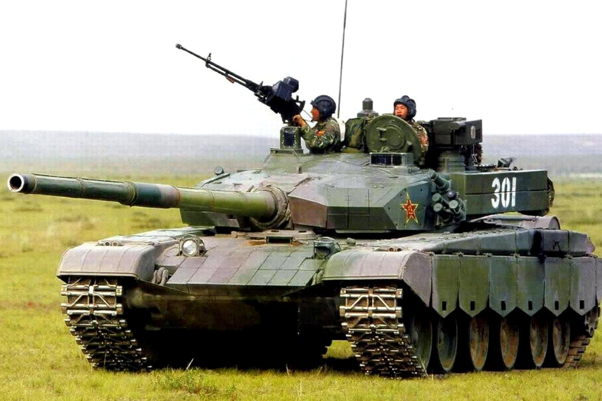 Know your enemy. ztz-99 (type 99) main battle tank