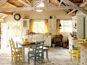 Decoracion de interiores estilo rustico Comedor