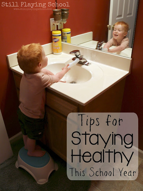 Prevent illness this school year with these stay healthy tips!
