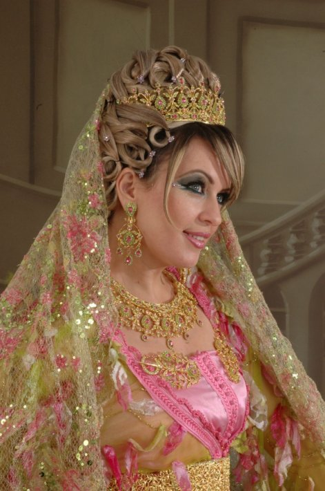 Kaftan Wedding Dress