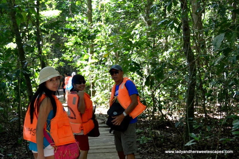 nature trail to Puerto Princesa underground river