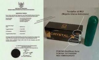 bpom crystal x