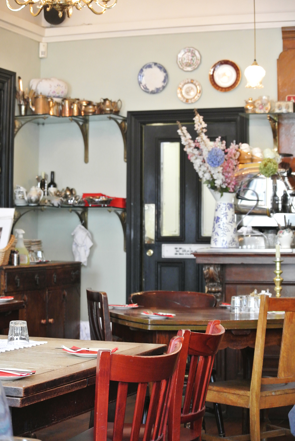 The Tearooms at the Butterfly and the Pig