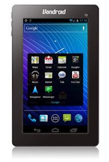 Advan Vandroid T2CI, Layar 7 Inci Dengan CPU Arm® Cortex™ A8 1GHz
