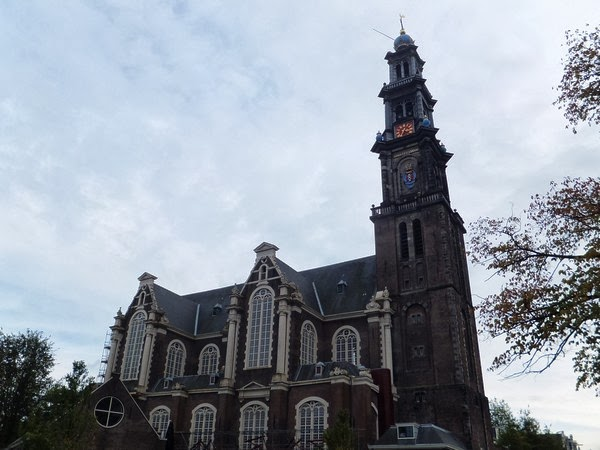 amsterdam canaux ouest westerkerk