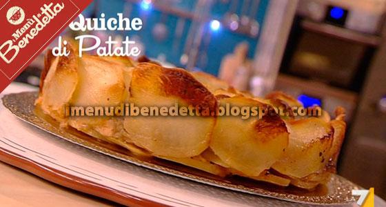 Quiche di Patate di Benedetta Parodi