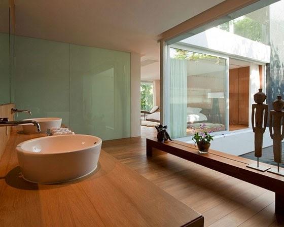 wastafel villa modern