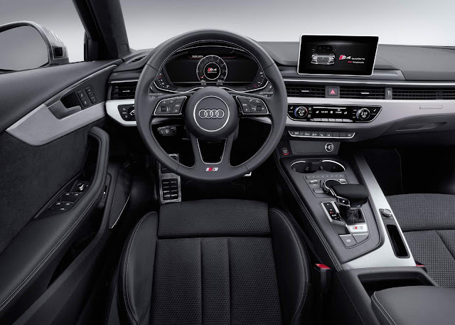 Novo Audi S4 2016 - interior